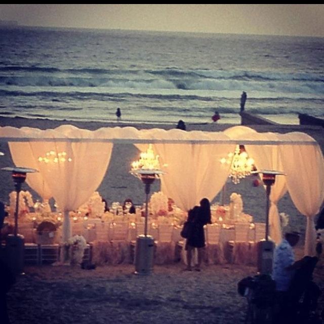 Sunset Beach Wedding Ideas: 84 Best Images About Beach Wedding Reception Ideas On