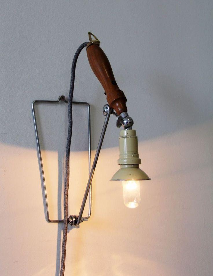 Arbeits Schreib Nacht Tisch Lampe Wand Chirurg Arzt Hand Leuchte Vintage Antik in Antiquitäten & Kunst, Alte Berufe, Arzt & Apotheker | eBay!