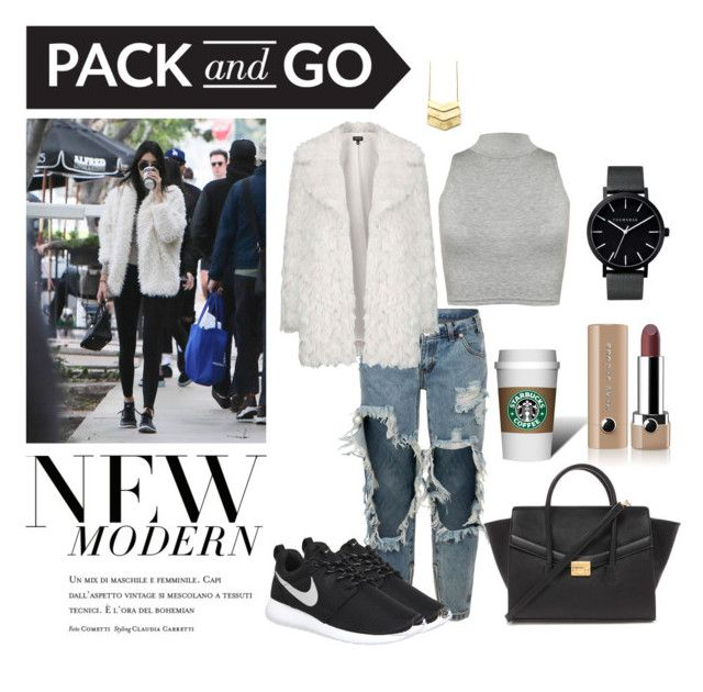 New Modern | Pack and Go by neeacamillaa on Polyvore featuring WearAll, Topshop, One Teaspoon, NIKE, Forever 21, The Horse, Marc Jacobs, modern, women's clothing and women's fashion