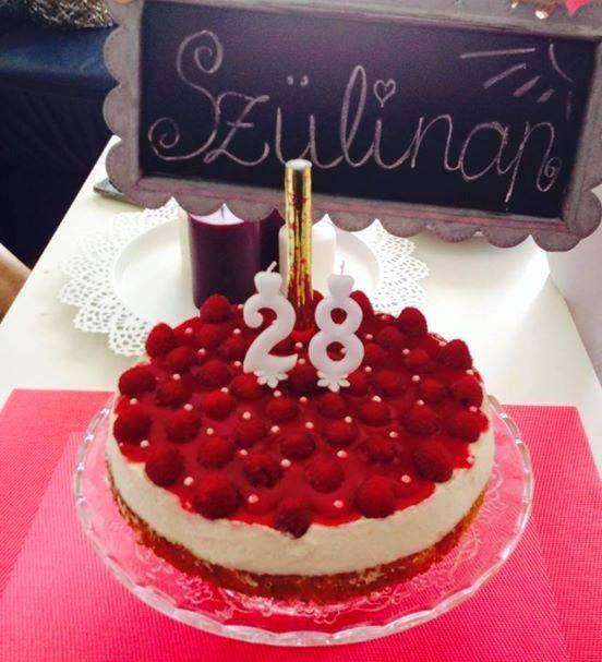 Málnás-túrós-mascarpone-s torta