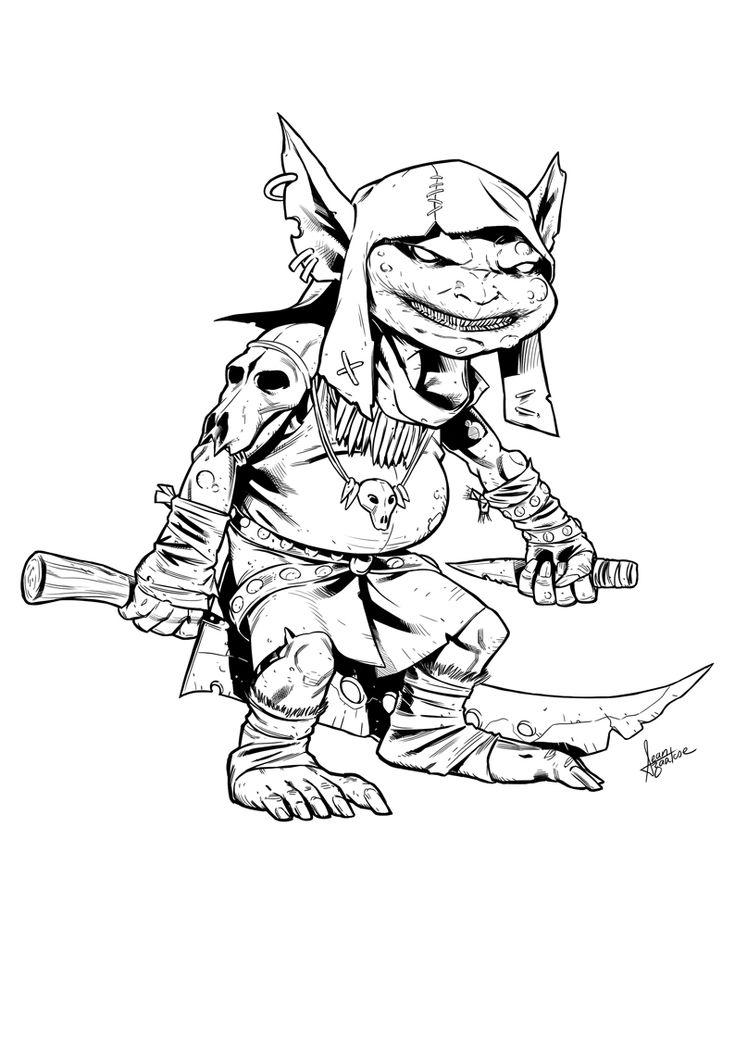 Goblin By Sean Izaakse Fantasy Stuff Pathfinder And Dnd
