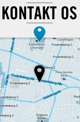 Mapa w stopce http://havekommunikation.dk/