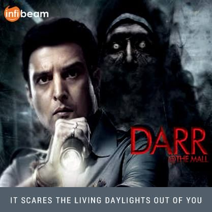 Darr At The Mall Movie : IT SCARES THE LIVING DAYLIGHTS OUT OF YOU !   Add it to your List by ordering the DVD from Infibeam !  #DarrAtTheMall #Movie #Bollywood #Horror #Movies #DVD