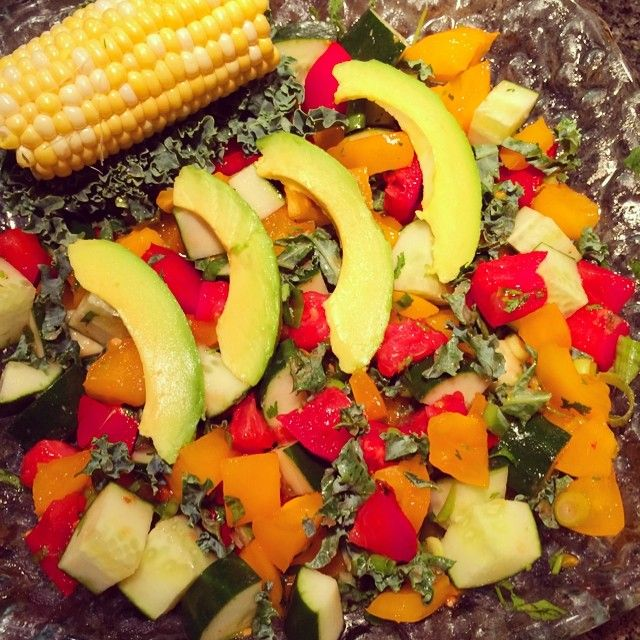 56 best raw vegan recipes images on pinterest vegan meals vegan yummy salsa tonight with avocado and raw organic corn on day 7 of the 7 day reset new video link on my profile congrats to everyone who participated forumfinder Image collections