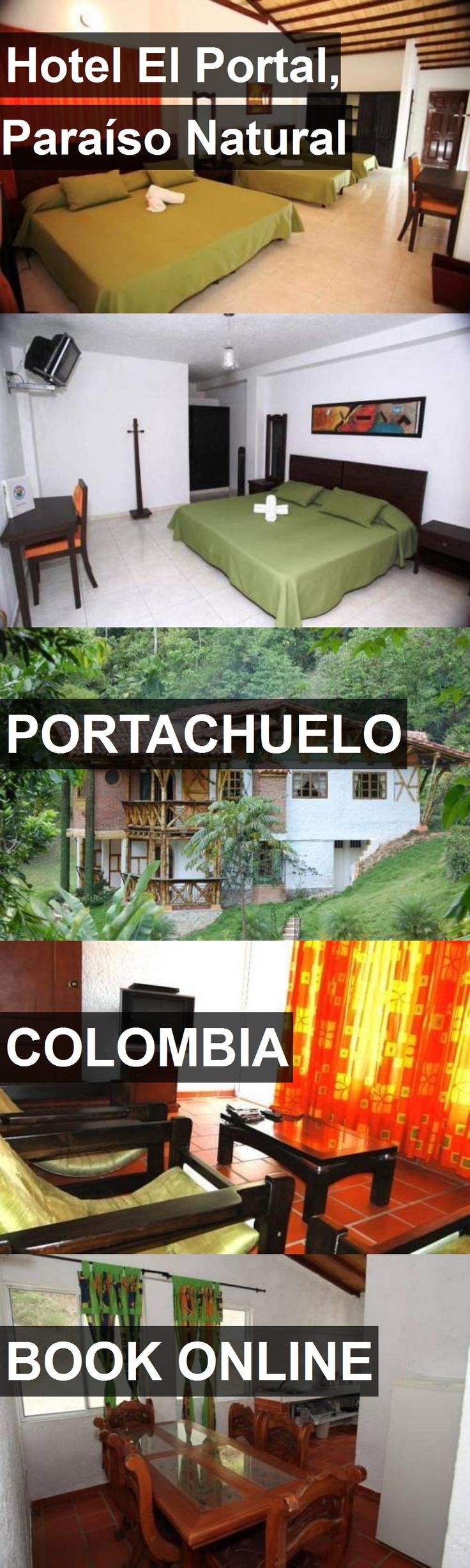 Hotel El Portal, Paraíso Natural in Portachuelo, Colombia. For more information, photos, reviews and best prices please follow the link. #Colombia #Portachuelo #travel #vacation #hotel