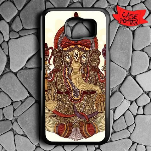 Ganesha Lord Of Success Samsung Galaxy S6 Black Case