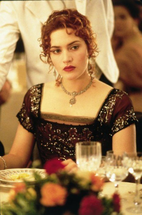 Kate Winslet -- I love her with red hair and she plays Rose so well! Couldn't picture anyone else.    And the fashions were gorgeous....
