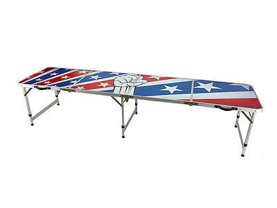 Tables 97075: New Beer Pong Table 8 Aluminum Folding American Flag Tailgate Drinking Game 11 -> BUY IT NOW ONLY: $79.99 on eBay!