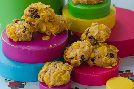 Μπισκότα με κορνφλέικς - Γρήγορες Συνταγές | γαστρονόμος online
