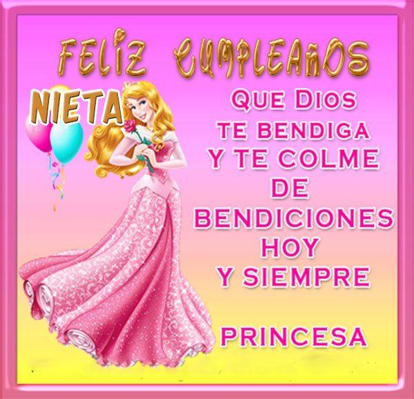 Imagenes De Feliz Cumpleanos Para Una Nieta Princesa Frases De Feliz Cumpleaños Feliz Cumpleaños Nieto Tarjetas De Feliz Cumpleaños