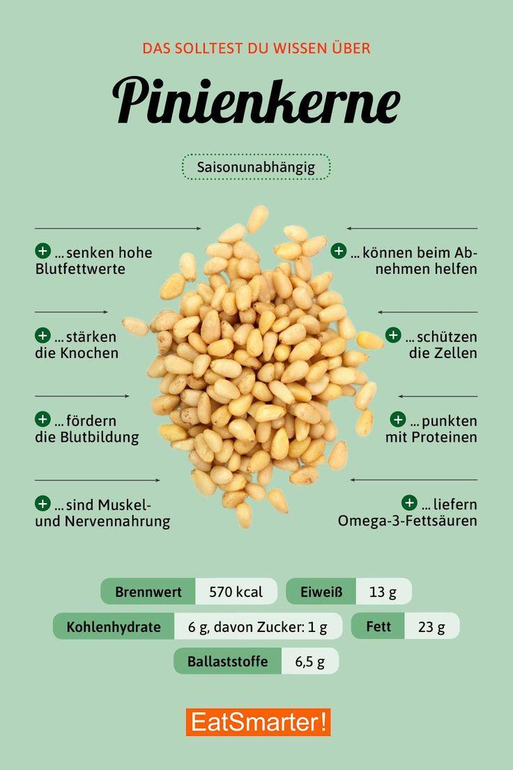 Pinienkerne #vitamins Das solltest du über Pinienkerne wissen   eatsmarter.de #…