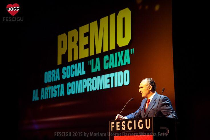 Premio Artista Comprometido. Fecha: 03/10/2015. Foto: Mariam Useros Barrero/Mausba Foto