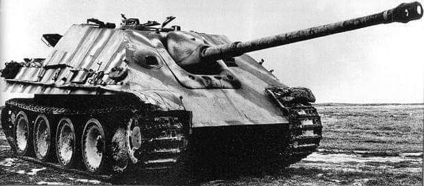 Jagdpanther with a nice camouflage
