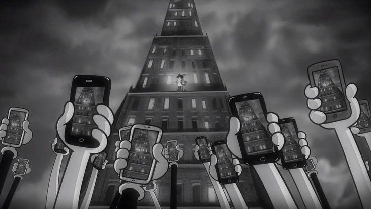 Video kertoo hyvin siitä, miten paljon matkapuhelimet elämäämme hallitsevat.