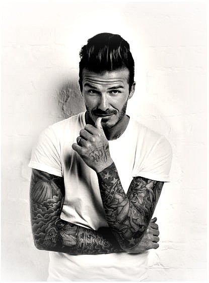 Tattooed men are my weakness... and so is david beckham