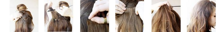 16 Inches 7 pcs Clips-on Human Hair Extensions#2