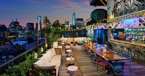 What are you doing this weekend? If you answered anything other than 'drinking a cocktail on a rooftop,' you're doing summer wrong. Here's where to find boozy popsicles, hammocks and breathtaking views. RELATED: NYC's First Booze-Infused Ice-Cream Shop Just Made Our Summer Dreams Come True