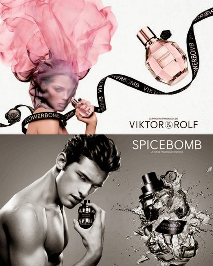 Aga's suitcase: Viktor and Rolf fragrances in Colombia