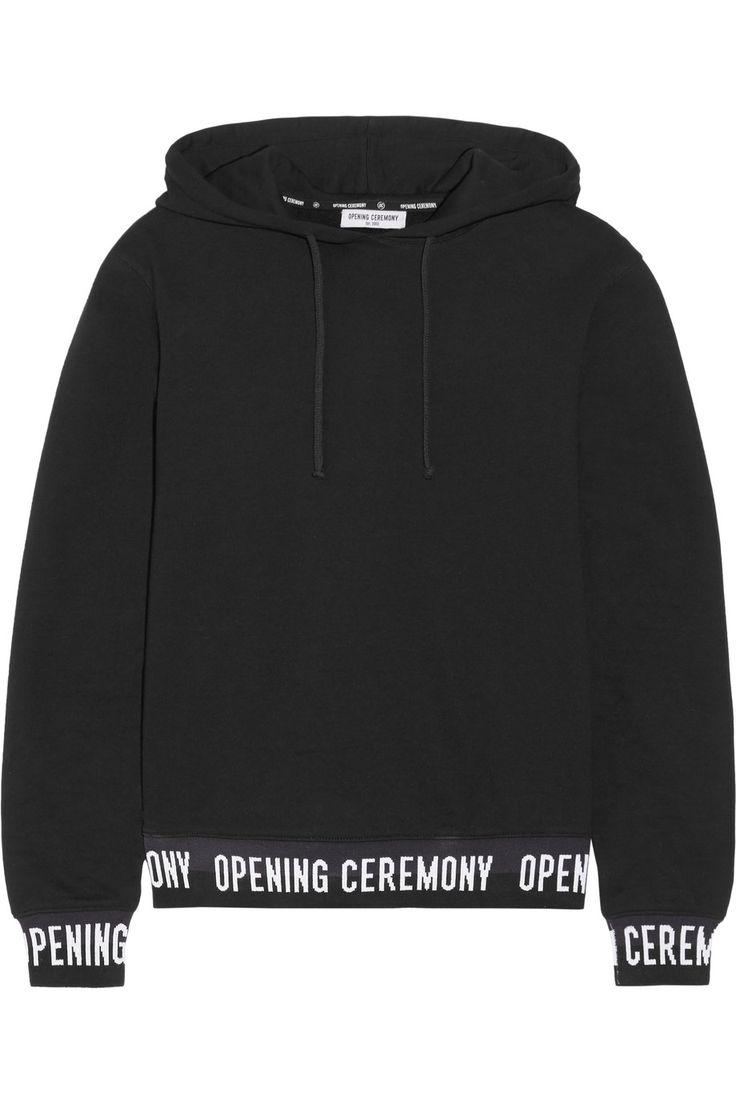 Opening Ceremony   Haut à capuche en jersey de coton   NET-A-PORTER.COM
