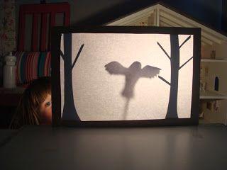 MouseHouse: bricolage ombre Théâtre de marionnettes