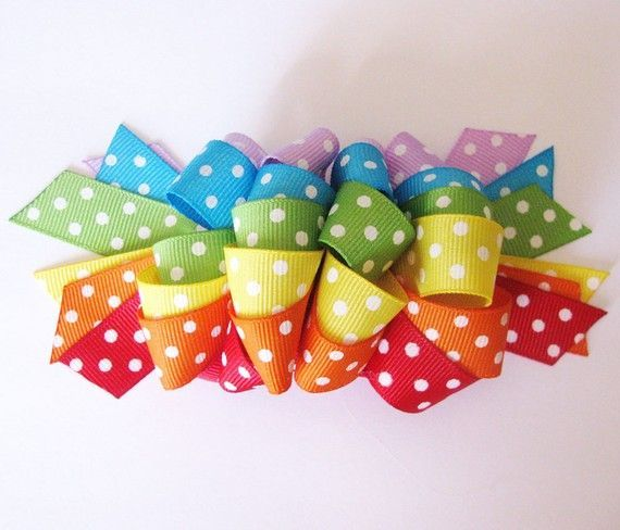 Free Hair Bows Instructions | Free Hair Bow Making Instructions | Randomness for the Girls