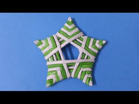 How to make decoration stars - YouTube