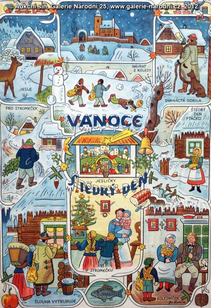 Vánoce - Štědrý den-1948