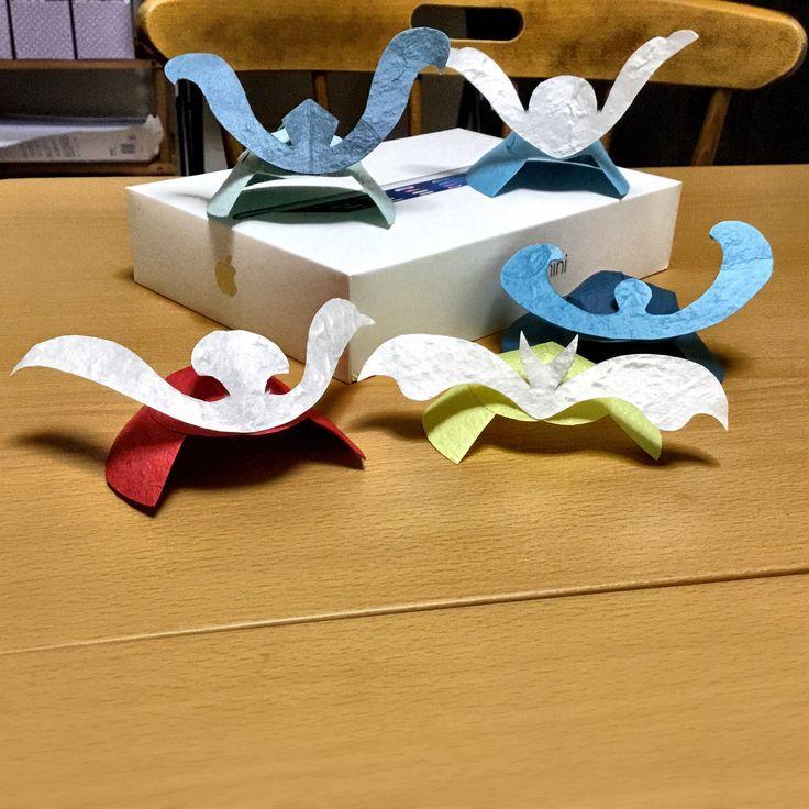 和紙でカブトを作ろう。 - DIYレシピの作り方を探すならCreon(クレオン)