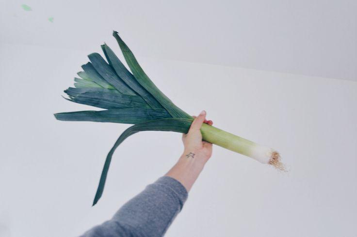 porrey me,vegetable,green,arrow
