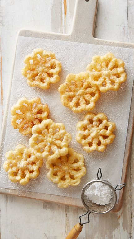 These light, crispy cookies are fried to golden perfection using a special…