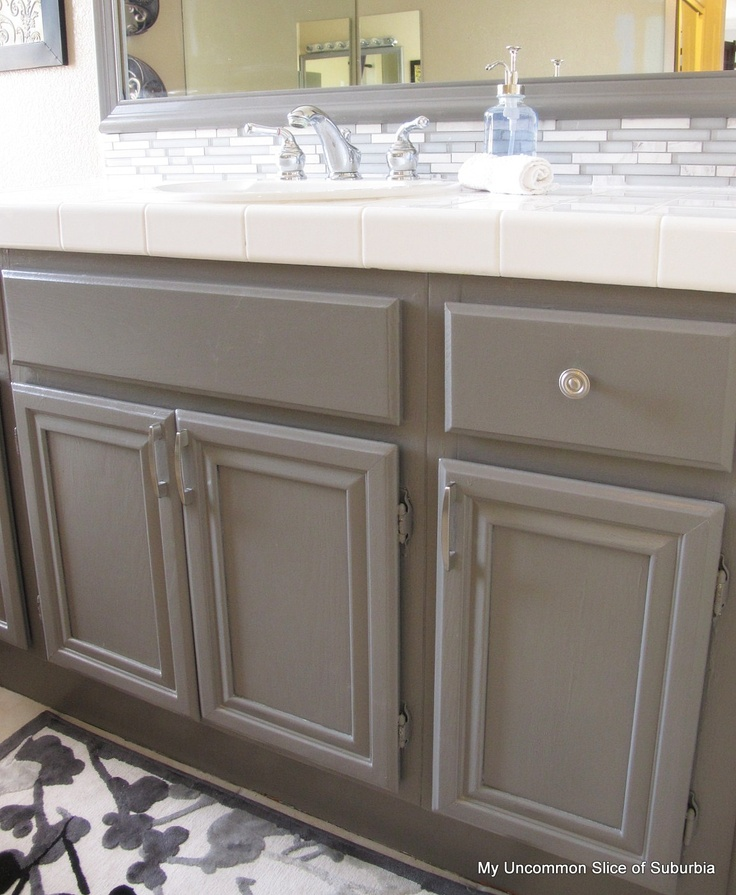 49 best perfect paint colors images on pinterest paint for Bathroom cabinets update ideas