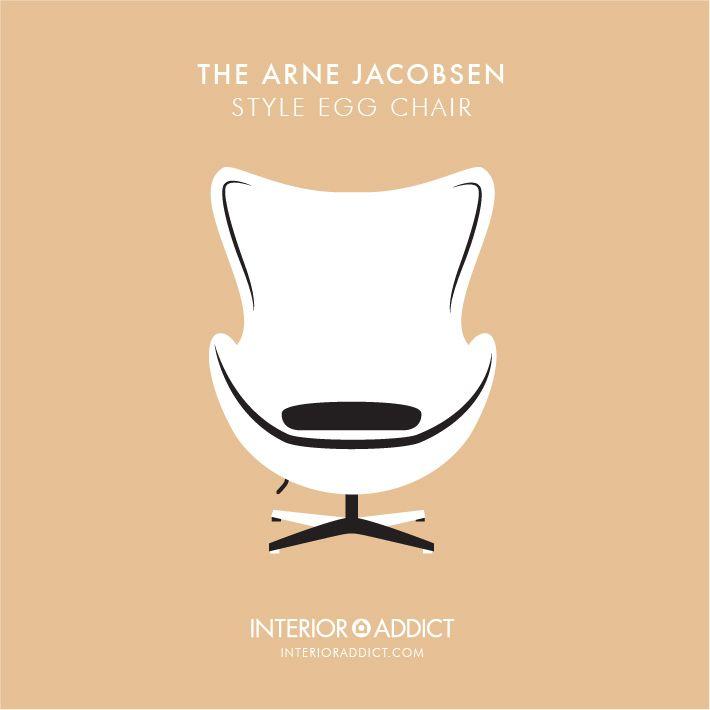AJ Style Egg Chair#ArneJacobsen #AJChair#Jacobsen #EggChair