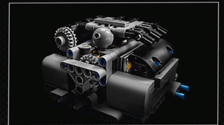 42056 Porsche Lego Technic motor 2016