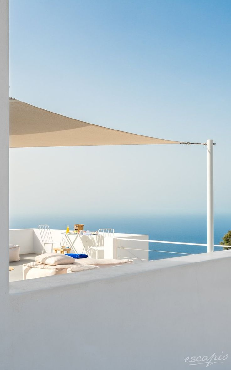 The incredible beauty of the Greek Islands. Hotel Santorini Heights. Pyrgos Kallistis, Griechenland. Greece.