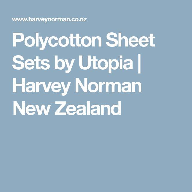 Polycotton Sheet Sets by Utopia | Harvey Norman New Zealand