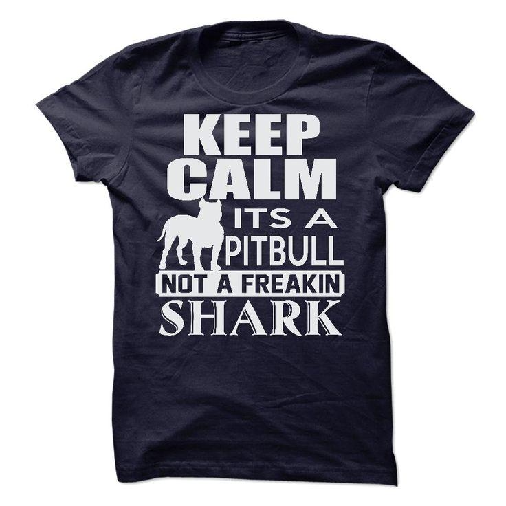 Its A PitBull, Not A Freakin Shark T-Shirt & Hoodie   DonaShirts.com - Dare To Be Tshirts, Hoodies And Custom