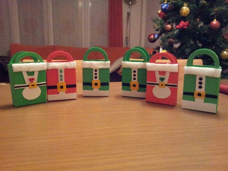 bolsitas para regalitos de navidad eva