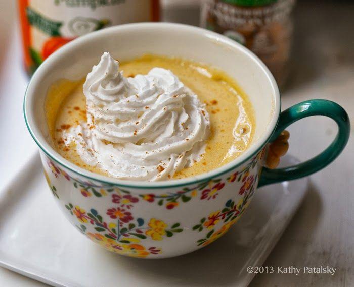 Hot pumpkin mug