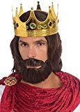 Forum Novelties Womens Royal King Wig Beard and Mustache