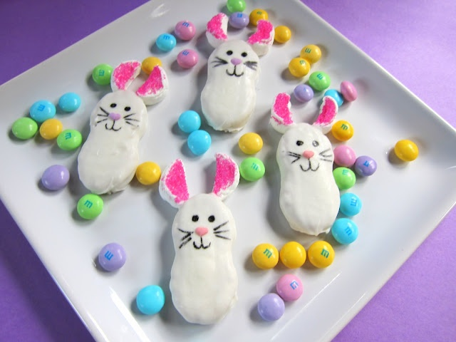 Nutter Butter Bunnies - definitely for next year or maybe just a cute spring treat!