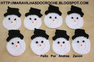 PASSO A PASSO DE NATAL | Maravilhas do Croche