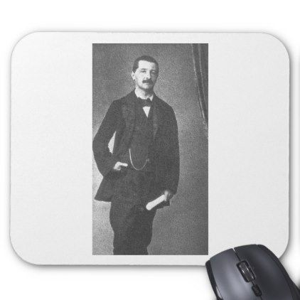 #Josef Anton Bruckner 1854 Mouse Pad - #office #gifts #giftideas #business