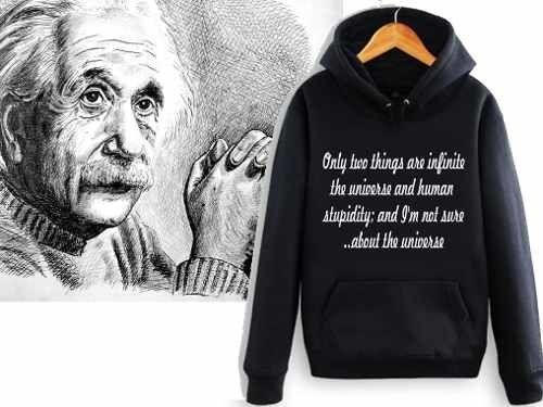 Sudadera Albert Einstein Frases Celebres Universo