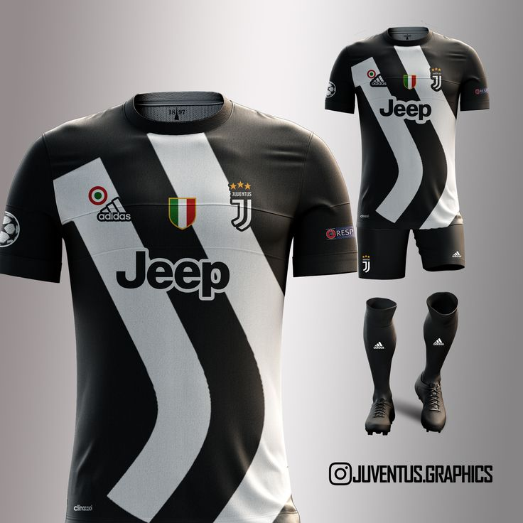 The 2017/2018 Juventus Jersey by Juventus.graphics -Do you like it? #jeep #higuain #forzajuve #l4l #picoftheday #pinterest #pjanic #championsleague #likeforlike #follorforfollow #pipita #juventus #juve #bonucci #instafollow #danialves #finoallafine #cool #instago #khedira #beautiful #insta_juve #marchisio #instagramers #football #love #adidas #juveart #dybala #adobephotoshop