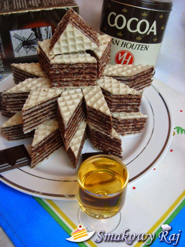 Raj příchuť - kulinářský blog: oplatky kakao - rum