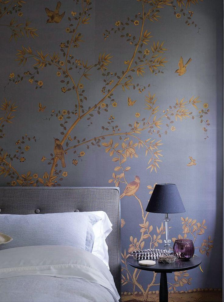 Erschwinglich Tapeten Schlafzimmer Ideen Bild Von Wohndesign Dekoration