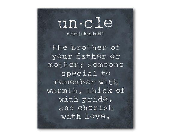 Best 25+ Uncle Quotes Ideas On Pinterest