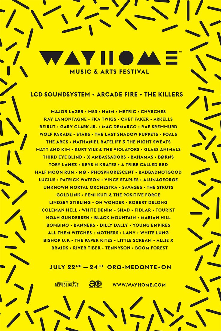 SPILL CONTEST - WIN A PAIR OF TICKETS TO WAYHOME FESTIVAL 2016!  http://spillmagazine.com/12033