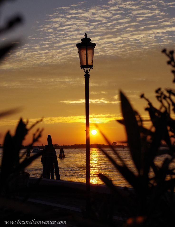 Tramonto visto dalla Ricevitoria di Treporti - Venezia