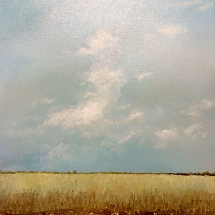 Igor Meyer. Oil on canvas. 50x50 cm. 2015.